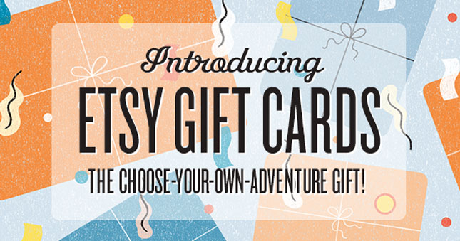 Etsy, Gift Cards