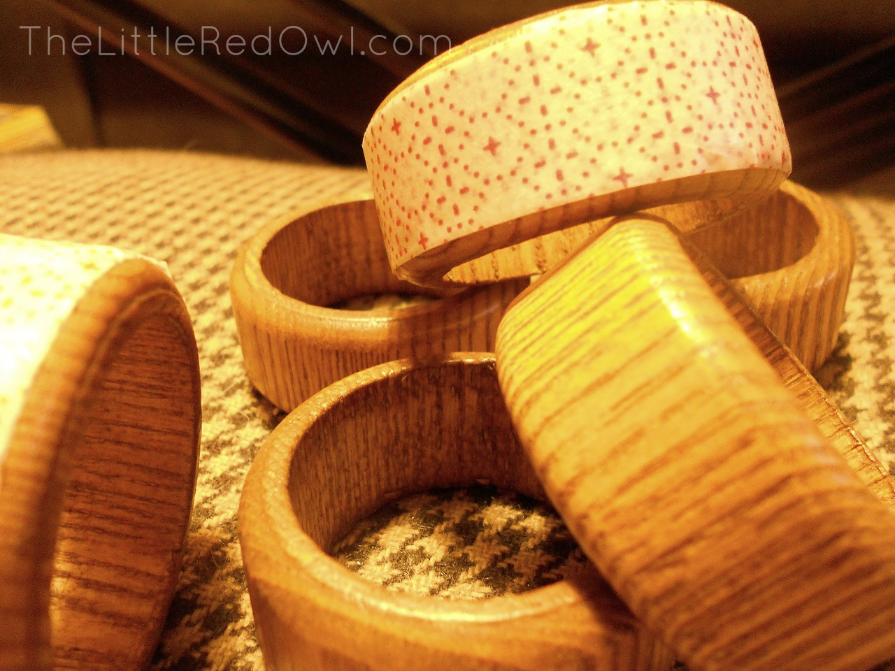 napkin rings, after
