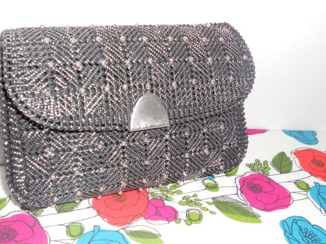 Black Fancy Clutch