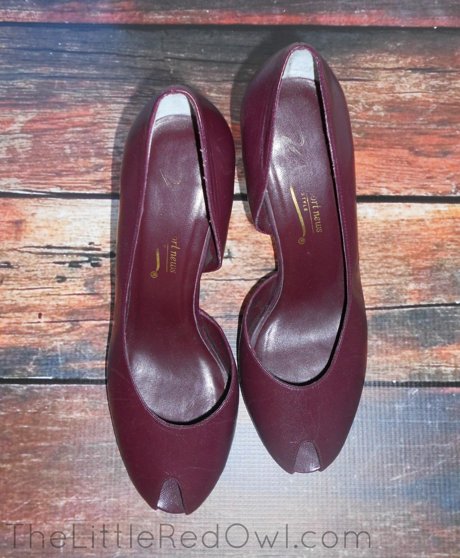 maroon heels blog