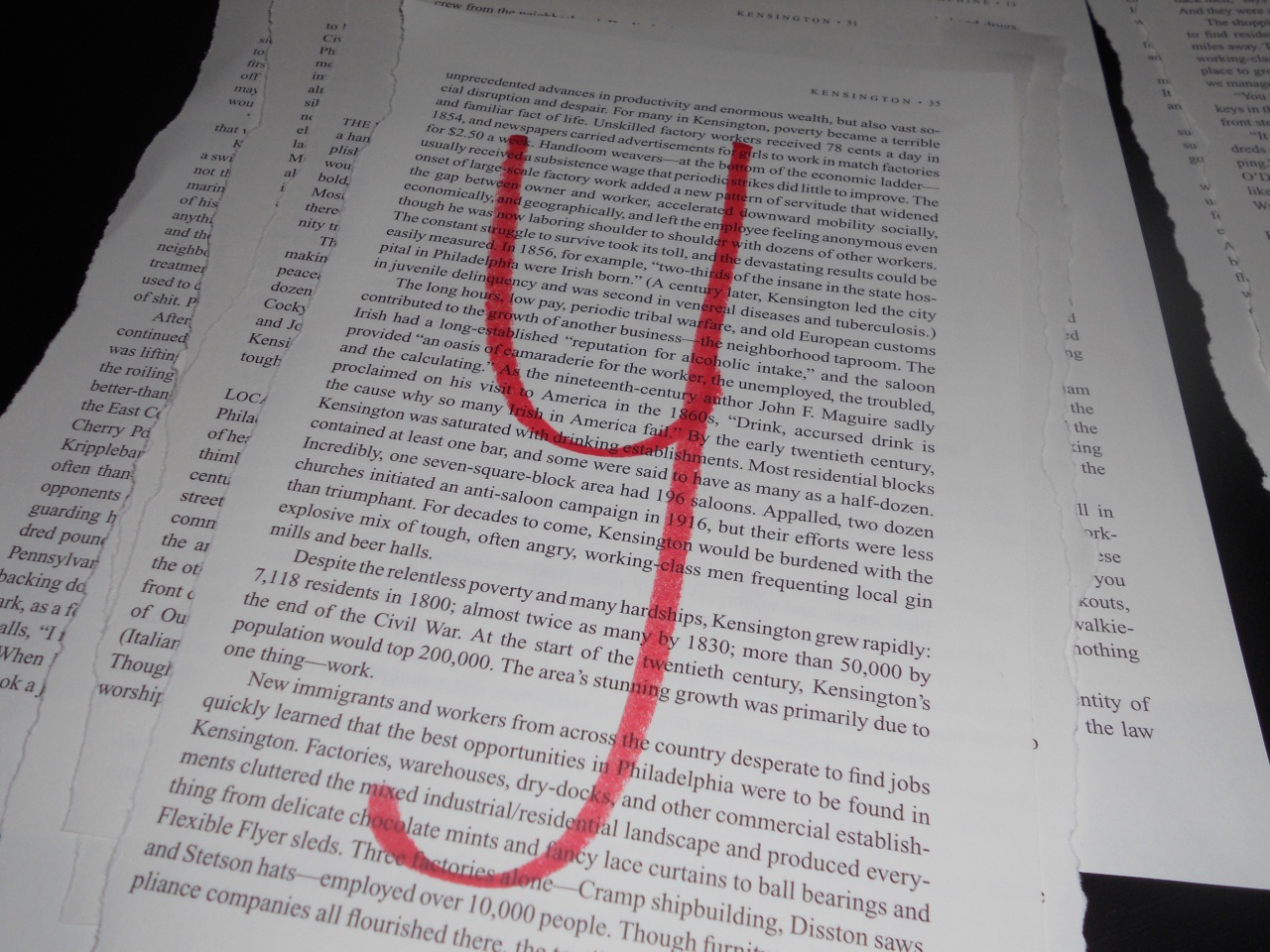 letter on book page