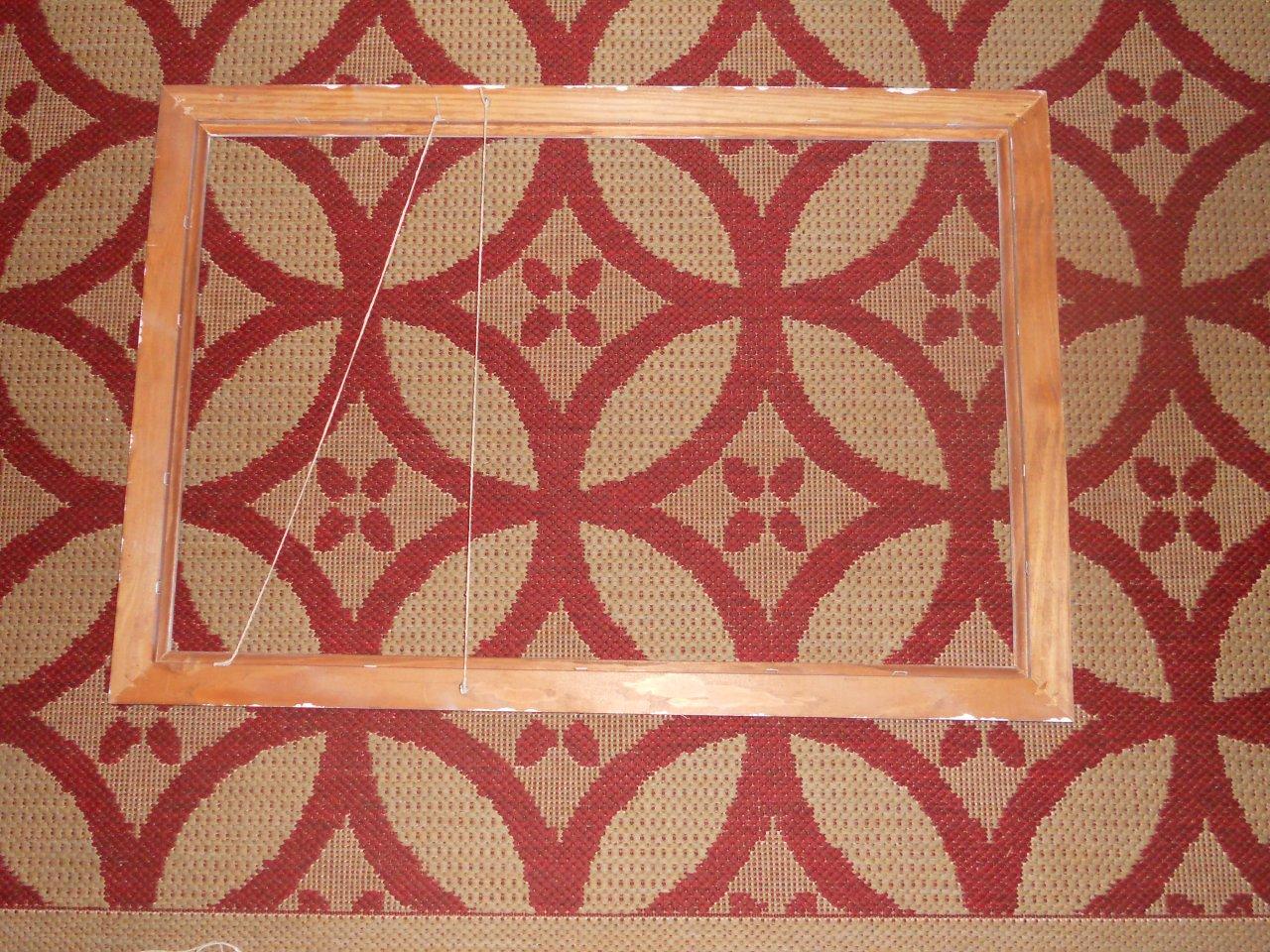 string on frame