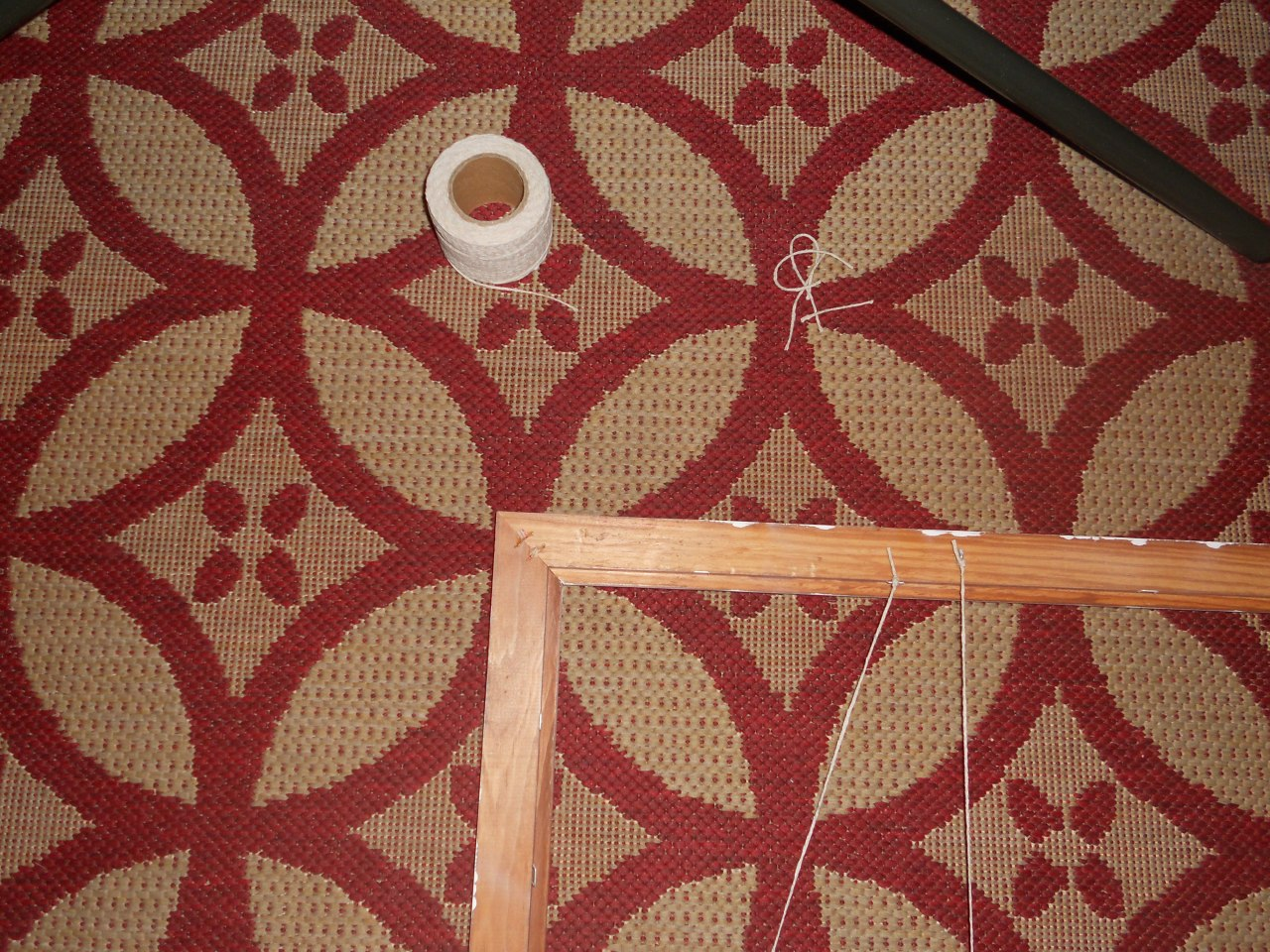 string and frame