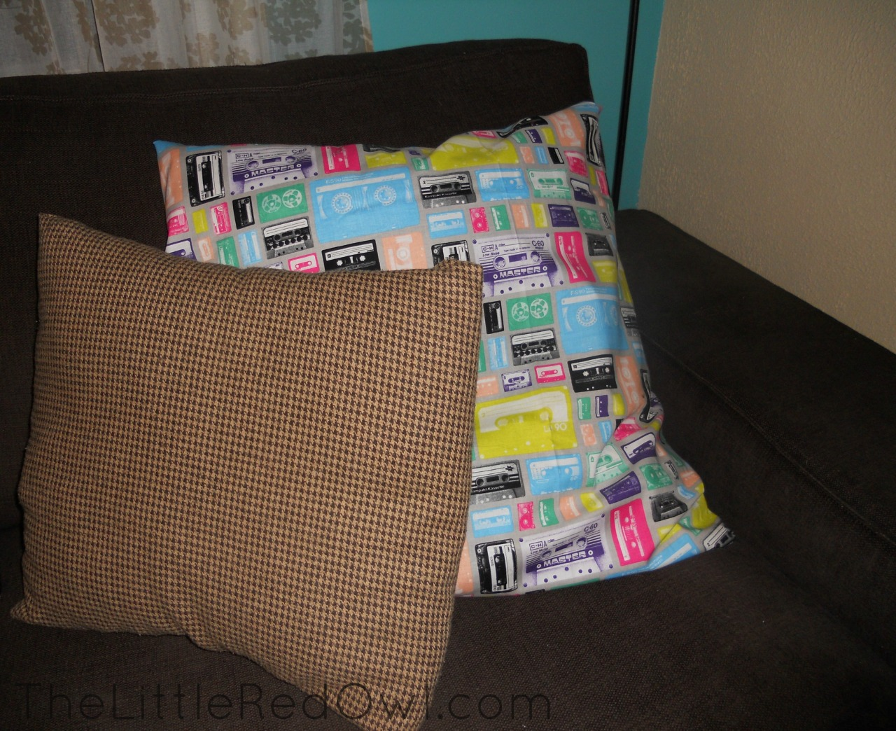 Mixed Tape Pillow Set