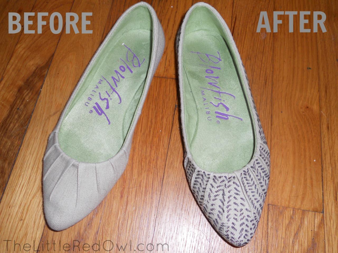 sharpie shoe DIY