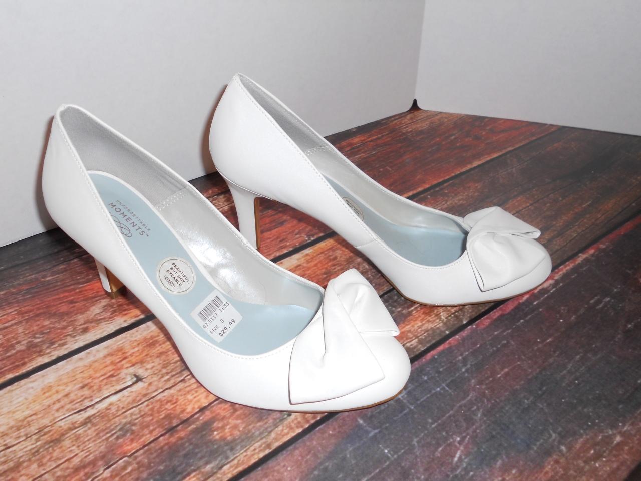 white heels before
