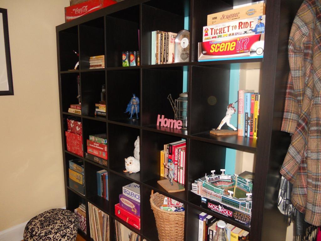 giant ikea shelves