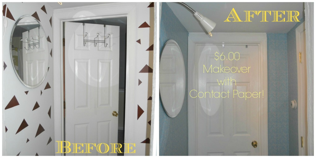 before & after hallway