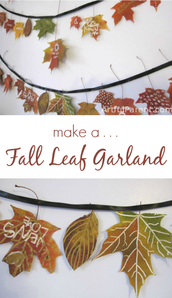 Make-a-Beautiful-Fall-Leaf-Garland